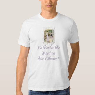 Habillement américain léger T, d'IRBR Jane Austen T-shirts