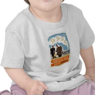 Habillement d'affiche de propagande de 2ÈME GUERRE T-shirts