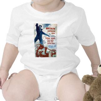 Habillement d'affiche de propagande de 2ÈME GUERRE T-shirt