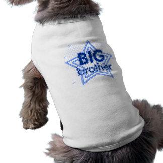 Habillement d'animal familier de frère t-shirt pour chien