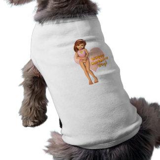 Habillement d'animal familier de Sadie de jour de  Tee-shirt Pour Chien