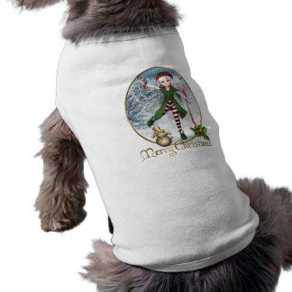 Habillement d'animal familier de Sadie Elf de Joye Manteau Pour Toutous