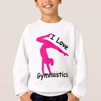Habillement de gymnastique - amour - grand cadeau… sweatshirt