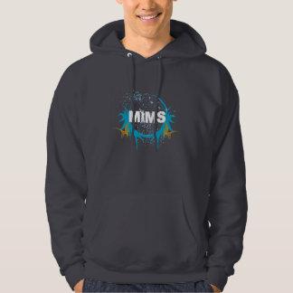 Habillement de MIMS - logo de MIMS encadré - Pull Avec Capuche