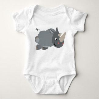 Habillement de remplissage de bébé de rhinocéros body