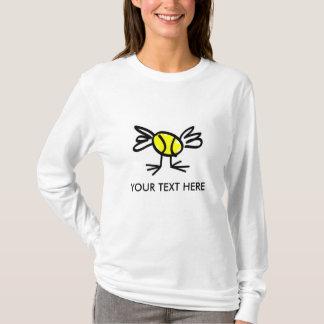 Habillement du tennis des femmes t-shirt