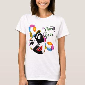 Habillement et cadeaux de masque de mardi gras ! t-shirt