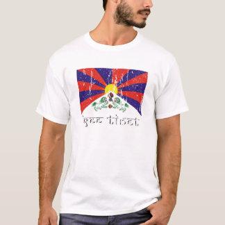 Habillement et habillement libres du Thibet T-shirt