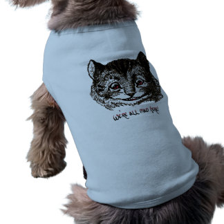 Habillement fol d'animal familier de chat t-shirt pour chien