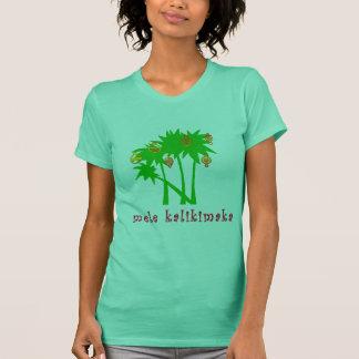 Habillement hawaïen de Noël de Mele Kalikimaka T-shirt