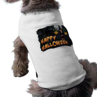Habillement heureux d'animal familier de Halloween Manteaux Pour Toutous