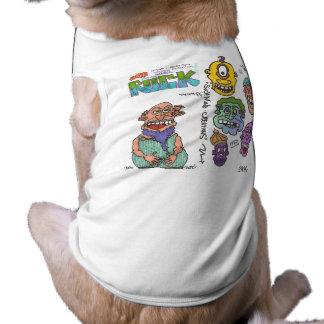 habillement malade d'esprit 4 chienchiens du DA ! T-shirt Pour Chien