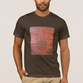 Habillement maya de main t-shirt