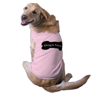 Habillement personnalisé d'animal familier pour t-shirt pour chien