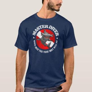 Habillement principal de plongeur t-shirt