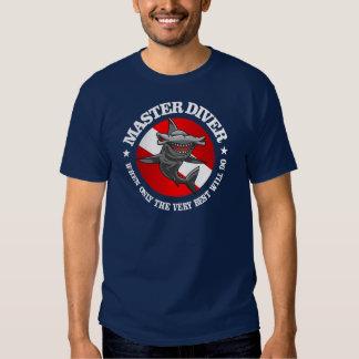 Habillement principal de plongeur t-shirts