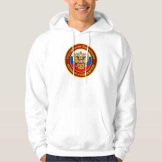 Habillement russe d'emblème sweats à capuche
