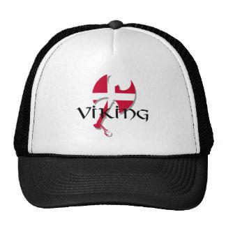 Hache de drapeau de Viking Danemark du danois Casquette Trucker