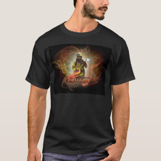 Hache de sapeur-pompier t-shirt