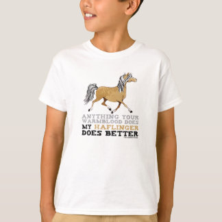 Haflingers il améliorent t-shirt
