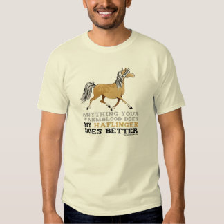 Haflingers il améliorent t-shirts