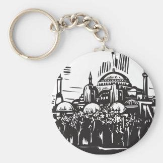 Hagia Sophia Porte-clé Rond