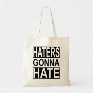 Haineux allant détester sac