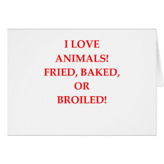haineux animal carte de vœux