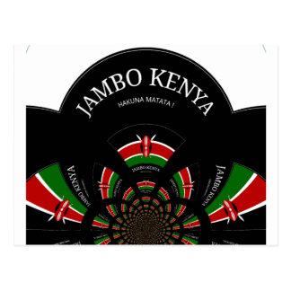 Hakuna Matata Jambo Kenya Carte Postale