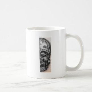 halfskull mug blanc