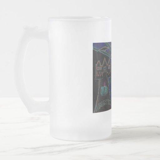 Halloween badine des arts abstraits mugs à café