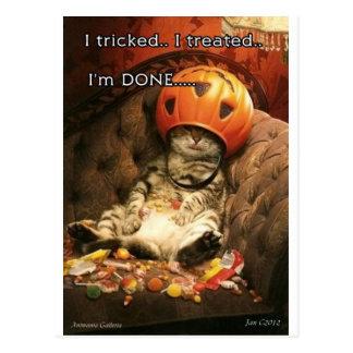 Halloween Carte Postale