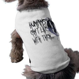 Halloween drôle tee-shirts pour toutous