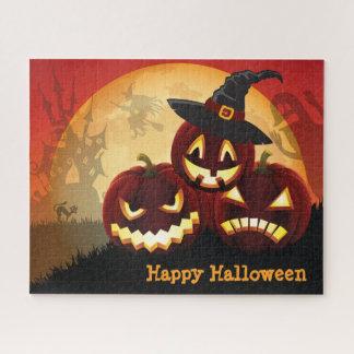 Halloween éffrayant 16 x puzzle 20 avec la