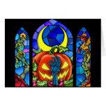 Halloween effrayant ! carte de vœux