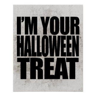 Halloween fait sur commande poster