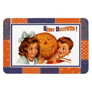 Halloween heureux ! Aimant vintage de cadeau de co Magnet En Vinyle