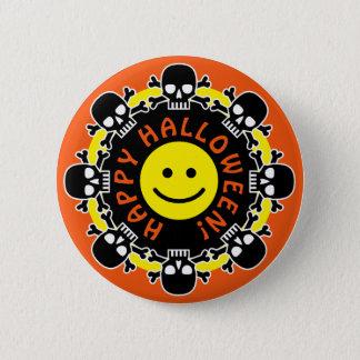 Halloween heureux badge