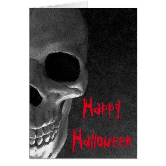 Halloween heureux, carte