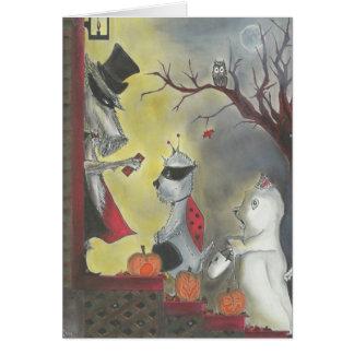 Halloween heureux ! Carte