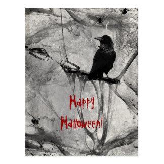 Halloween heureux carte postale