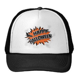 Halloween heureux casquettes