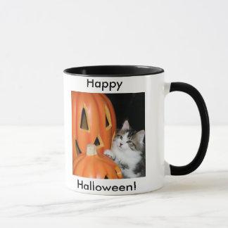 Halloween heureux de tasse de Jem