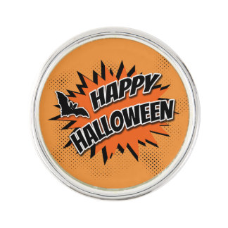 Halloween heureux épinglette