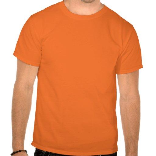 Halloween heureux - orange de des bonbons ou un t-shirts