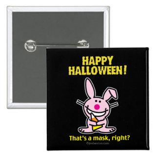 Halloween heureux ! pin's