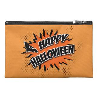 Halloween heureux pochette de voyage