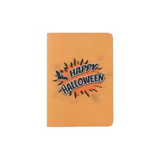 Halloween heureux protège-passeport