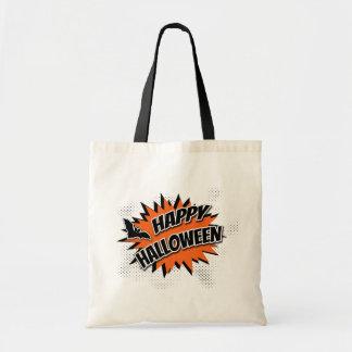 Halloween heureux sac fourre-tout