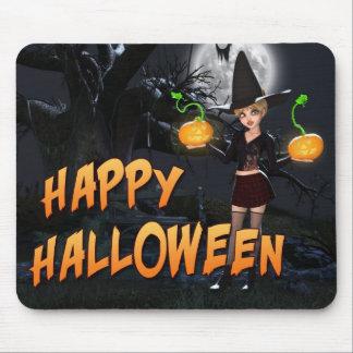 Halloween heureux Skye Mousepad Tapis De Souris